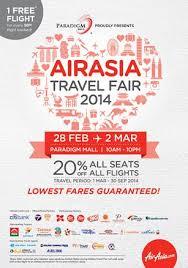Airasia Travel Fair   lowest fares guaranteed at the very first airasia travel fair airasia