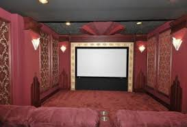 Art Deco Home Theater Design Ideas  Pictures Zillow Digs Zillow - Home theatre designs