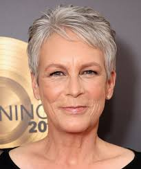 how to get the jamie lee curtis haircut world s most beautiful 2017 famous women with gray hair