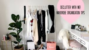 Wardrobe Tips Declutter With Me Selling My Clothes Wardrobe Organisation