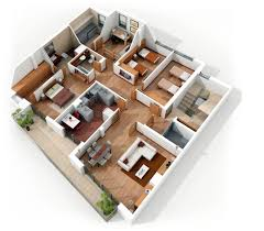 Houses Layouts Floor Plans by 4 Bedroom Apartment House Plans