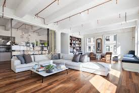 decorating trends 5m renovated tribeca loft is a veritable showcase of super hot