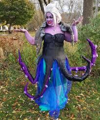ursula from the little mermaid diy costume the halloweenies