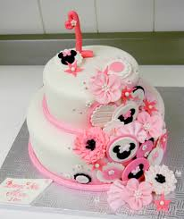 minnie mouse birthday cake 1st birthday minnie mouse inspired cake cakecentral inside