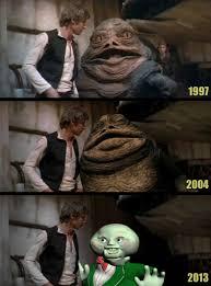 Jabba The Hutt Meme - the evolution of cgi jabba the hutt meme guy