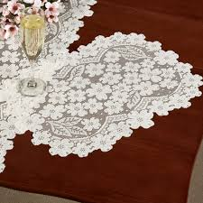 table runner placemat set dogwood lace table runners