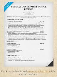 Federal Employment Resume 50 Resume Samples