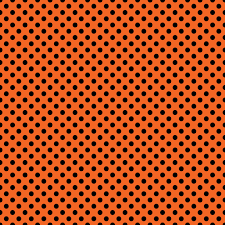 halloween color background orange and black dotted background