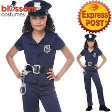 cop costume ck1081 cop costume kids book week fancy dress