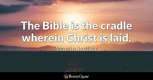 Words Of Comfort From The Bible Martin Luther Quotes Brainyquote