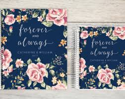 of honor planner book wedding planner book etsy
