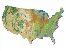 Goo Map Multi Resolution Land Cover Characteristics Map Of North America