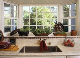 kitchen bay window decorating ideas bay window kitchen sink in small kitchen images