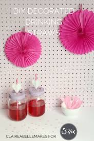 Decorated Paper Diy Decorated Paper Drinking Straws