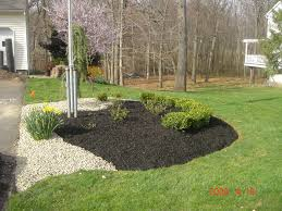 garden rocks ideas rock and mulch landscaping ideas design and ideas