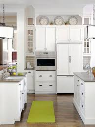 Ideas For Decorating Above Kitchen Cabinets - Kitchen decor above cabinets