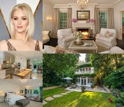 Jennifer Lawrence Home by 31 Best Celebrity Homes The House Shop Blog