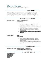 Elegant Resume Examples by Simple Resume Templates 75 Examples Free Download