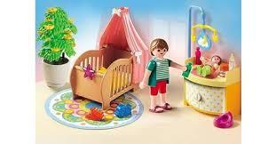playmobil chambre parents chambre de bébé avec berceau sets divers 5334