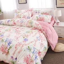 online shop winlife rustic floral bedding set 100 cotton duvet