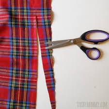 plaid tartan make an easy no sew diy plaid blanket scarf the diy mommy
