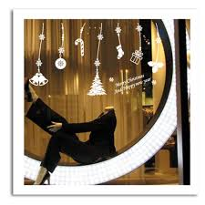 merry xmas decal christmas decorations window stickers new year