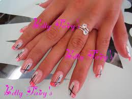 deco ongle en gel noir et blanc les originales féerique jusqu u0027au bout des ongles