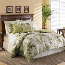 Bed Bath And Beyond Boca Raton Tommy Bahama Home Island Botanical Comforter Set 100 Cotton