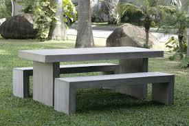 concrete outdoor table google search landscape pinterest
