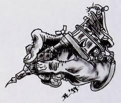 tattoo gun sketch tattoo machine by roblfc1892 on deviantart