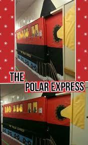 polar express door decoration polar express