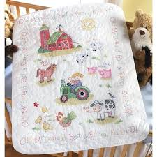 quilts kits to make the on the farm baby quilt kit is a sted