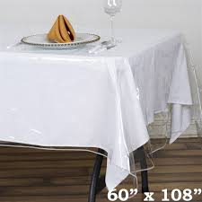 thick plastic table cover clear thick plastic table covers for banquet table table covers depot