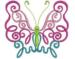 butterfly scroll etsy