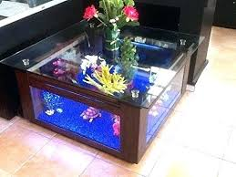 Aquarium Coffee Table Coffee Table Fish Tanks 8 Extremely Interesting Places To Put An