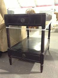 Black Furniture Paint by End Table Makeover With Chalk Paint Decorative Paint By Annie
