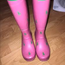 ralph womens boots size 11 ralph pink green polo by ralph boots from