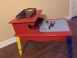 Diy Lego Table by Diy Upcycle Lego Table Slide And Video Youtube