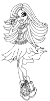 Halloween Monster Coloring Pages by 246 Best Colouring Bratz Monster High Moxie Girls Ever After