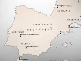 Rome On A Map Hispania