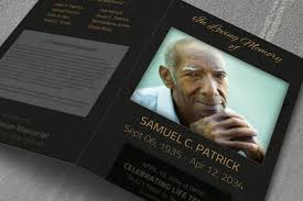 memorial service program 15 modern funeral program templates