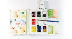 beginner u0027s guide to watercolor part 1 the paint paint and letters