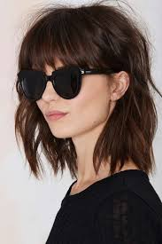 lob hair with side fringe 30 stunning shag haircuts in 2016 2017