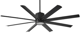 a ceiling fan with 16 in blades vantage with dc motor wet location