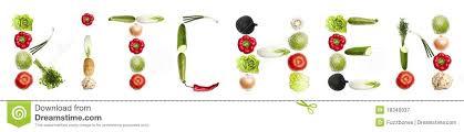 mot de cuisine mot de cuisine fait de légumes image stock image du mélange
