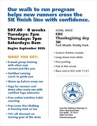 fort worth thanksgiving day to 5k lone