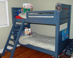 Plans To Build A Bunk Bed Ladder by Ana White Twin Over Full Simple Bunk Bed Plans Diy Projects