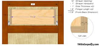 Woodworking Joints For Drawers by The Quarter Quarter Quarter Drawer System Thisiscarpentry