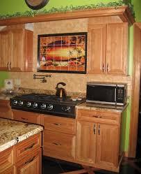 Mexican Tiles Sunset Tile Murals Tropical Kitchen Backsplashes - Mexican backsplash