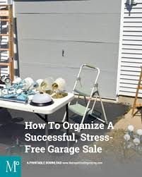 Plan Toys Parking Garage Sale by Checklist Organizing A Successful Stress Free Garage Sale
